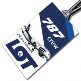LOT Boeing 787 - Crew Tag
